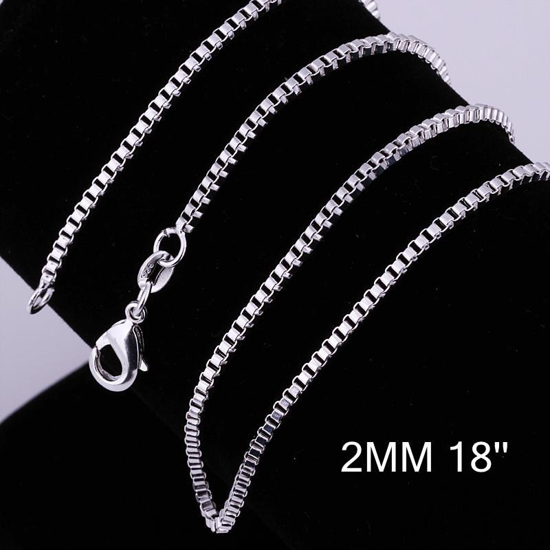 Vienna Jewelry Sterling Silver Classic Chain Necklace
