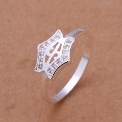 Vienna Jewelry Sterling Silver Petite Butterfly Wings Petite Ring Size: 8 - Thumbnail 0