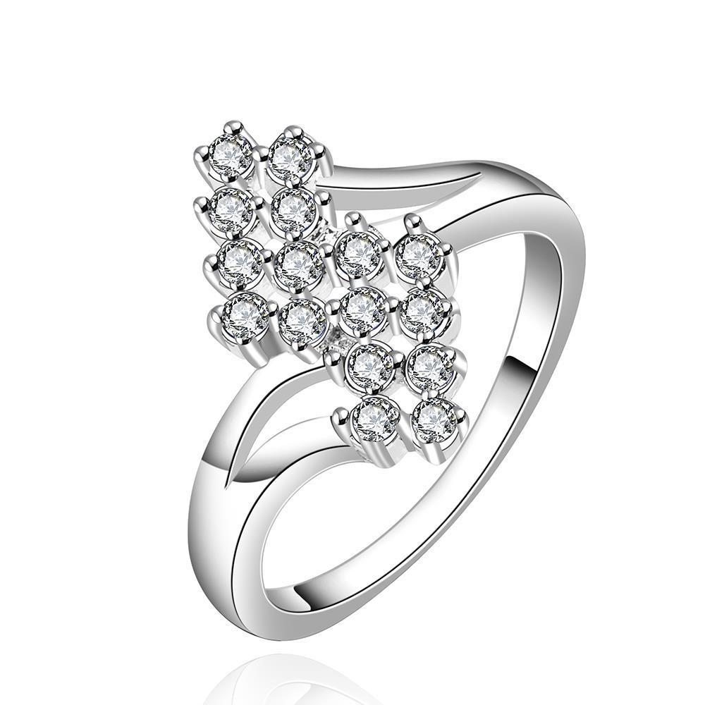 Vienna Jewelry Sterling Silver Blossoming Orchid Petite Ring Size: 8