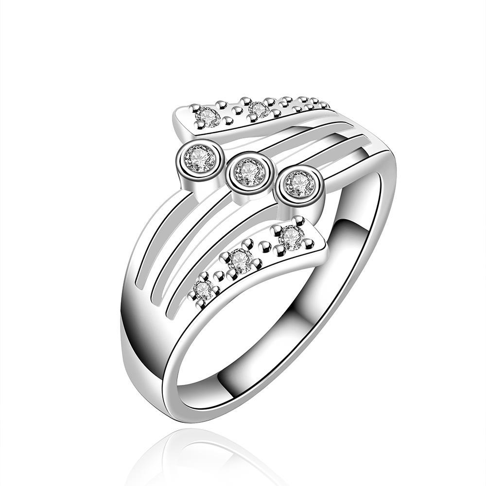 Vienna Jewelry Sterling Silver Milan Inspired Ring Size: 8