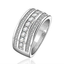 Vienna Jewelry Sterling Silver Jewels Covering Modern Ring Size: 7 - Thumbnail 0