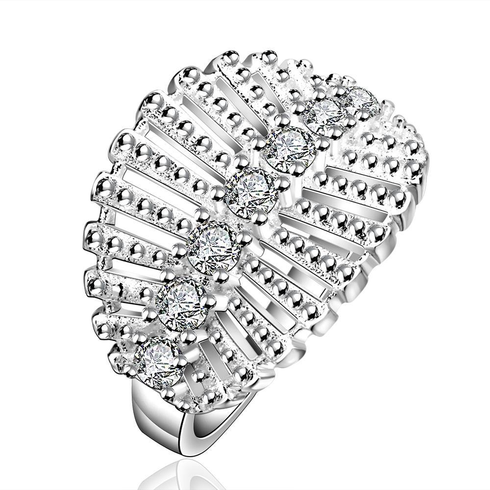 Vienna Jewelry Sterling Silver Jewels Leaf Branch Ring Size: 8