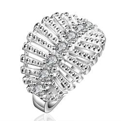Vienna Jewelry Sterling Silver Jewels Leaf Branch Ring Size: 8 - Thumbnail 0
