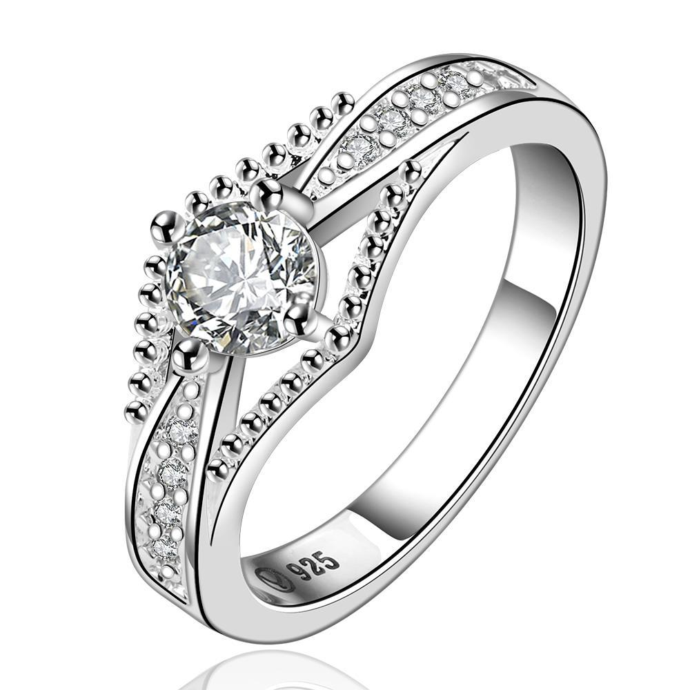 Vienna Jewelry Sterling Silver Jewels Layering Petite Ring Size: 7