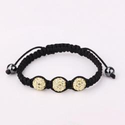 Vienna Jewelry Pave Swarovksi Elements Style Bracelet-Moonstone - Thumbnail 0