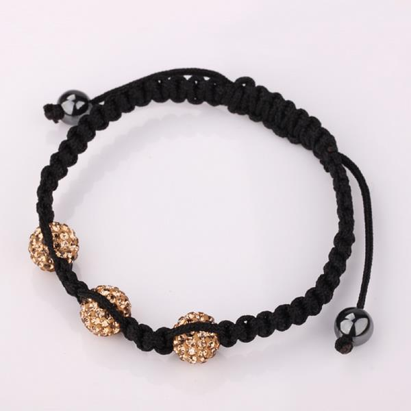 Vienna Jewelry Pave Swarovksi Elements Style Bracelet- Light Citrine