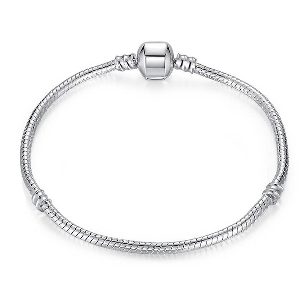 Vienna Jewelry The Original Plain Silver Bracelet