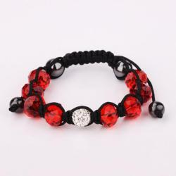 Vienna Jewelry Hand Made Swarovksi Elements Bracelet & Gemstone Beads-Runy - Thumbnail 0