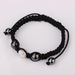Vienna Jewelry Hand Made Swarovksi Elements Bracelet- Crystal - Thumbnail 0