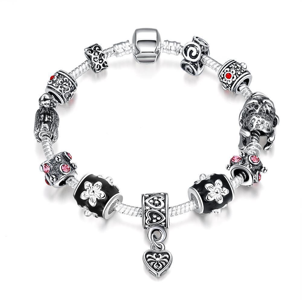Vienna Jewelry Midnight Passion Bracelet