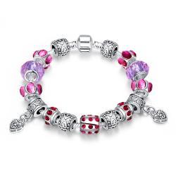 Vienna Jewelry Purple Passion Bracelet - Thumbnail 0
