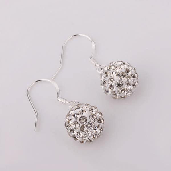 Vienna Jewelry Vivid Royal Swarovksi Element Crystal Drop Earrings