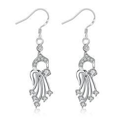Vienna Jewelry Dangling Jewels Drop Earrings - Thumbnail 0