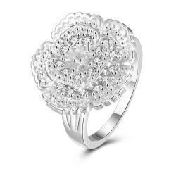 Classical Floral Petal Large Ring Size 8 - Thumbnail 0