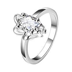 Classic Stone Petite Gem Classic Ring Size 7 - Thumbnail 0