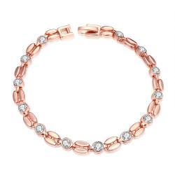 Vienna Jewelry 18K Gold Plated Cuban Bracelet - Thumbnail 0