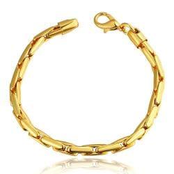 Vienna Jewelry 18K Gold Greek Bracelet with Austrian Crystal Elements - Thumbnail 0
