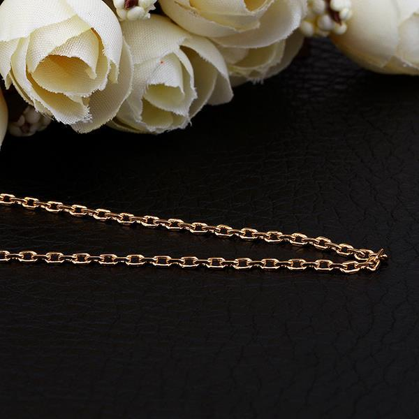 Vienna Jewelry Gold Plated London Inspired Chain Necklace