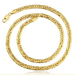 Vienna Jewelry Gold Plated Milan Inspired Necklace - Thumbnail 0