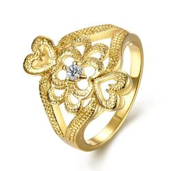 Vienna Jewelry Gold Plated Ancient Greek Inspired Ring - Thumbnail 0