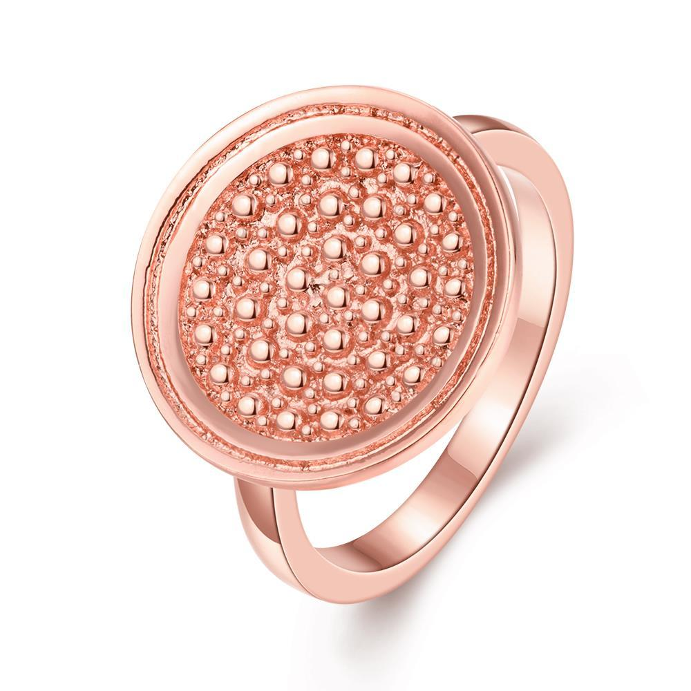 Vienna Jewelry Gold Plated Soft Metal Face Ring