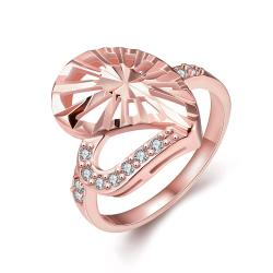 Vienna Jewelry Gold Plated Modern Twist to The Classic Ring - Thumbnail 0