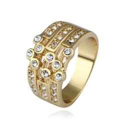 Vienna Jewelry Gold Plated Greek Design Inspired Ring Size 8 - Thumbnail 0