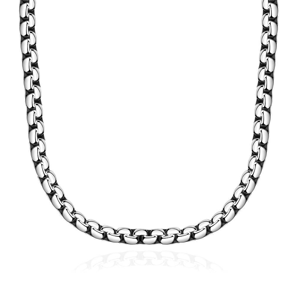 Vienna Jewelry Classic Paris Chain Stainless Steel Necklace