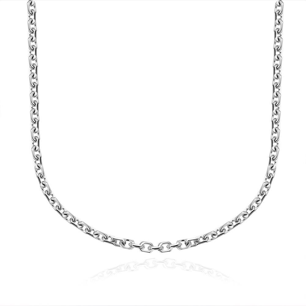 Vienna Jewelry Milan Inspired Stainless Steel Chain 22 inches