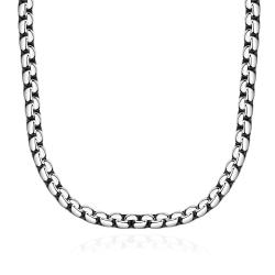 Vienna Jewelry Classic Paris Chain Stainless Steel Necklace - Thumbnail 0