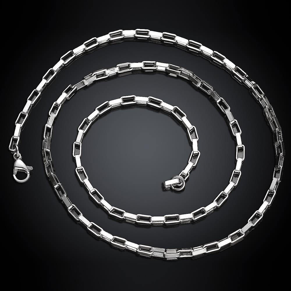 Vienna Jewelry Classic 5th Avenue Stainless Steel Chain 24 inches