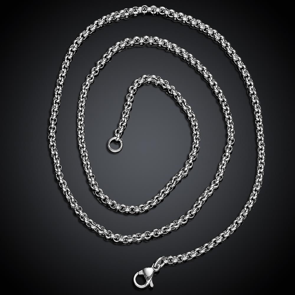 Vienna Jewelry Italian Stainless Steel Chain 22 inches