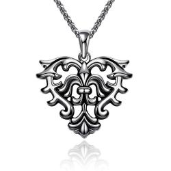 Vienna Jewelry Mens Stainless Steel Necklace - Thumbnail 0