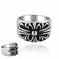 Vienna Jewelry Celtic Inspired Emblem Ring - Thumbnail 0