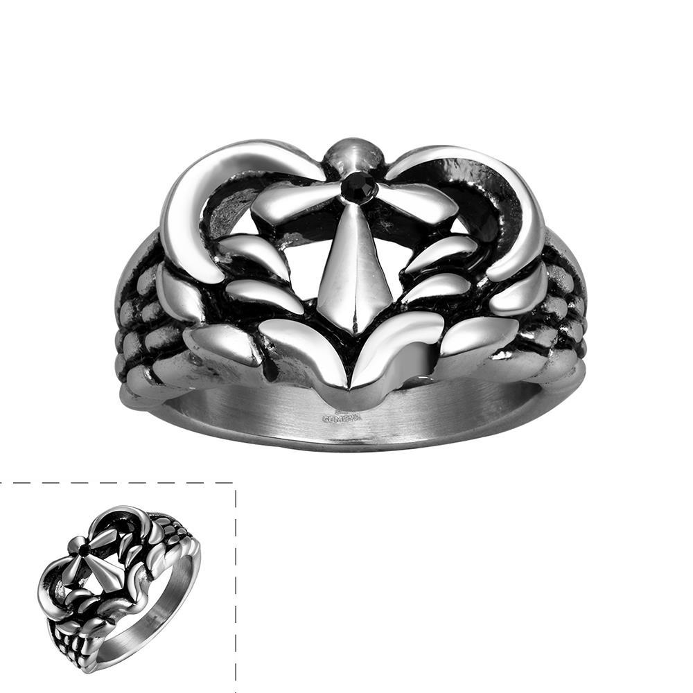Vienna Jewelry Leopard Stainless Steel Ring