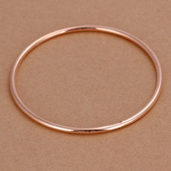 Sterling Silver Gold Coloring Classic Bangle