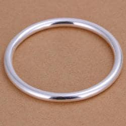 Sterling Silver Classic Petite Bangle - Thumbnail 0