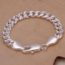 Vienna Jewelry Sterling Silver Sleek New York Inspired Bracelet - Thumbnail 0