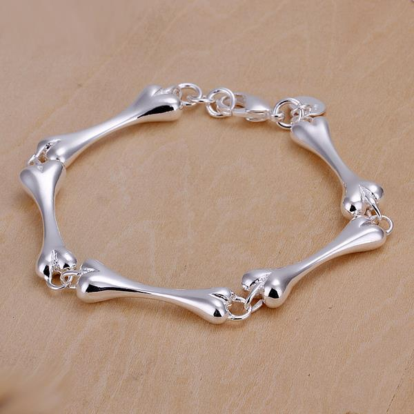 Vienna Jewelry Sterling Silver Multi Dog Treats Bracelet