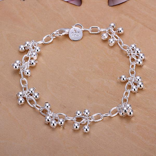 Vienna Jewelry Sterling Silver Multi Orchid Bracelet
