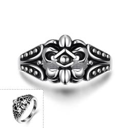 Vienna Jewelry Spartan Shield Stainless Steel Ring - Thumbnail 0