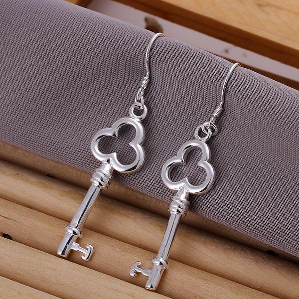 Vienna Jewelry Sterling Silver Keychain Pendant Earring