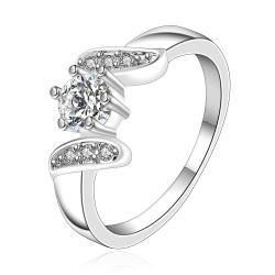 Vienna Jewelry Sterling Silver Jewels Covering Swirl Design Ring Size: 7 - Thumbnail 0