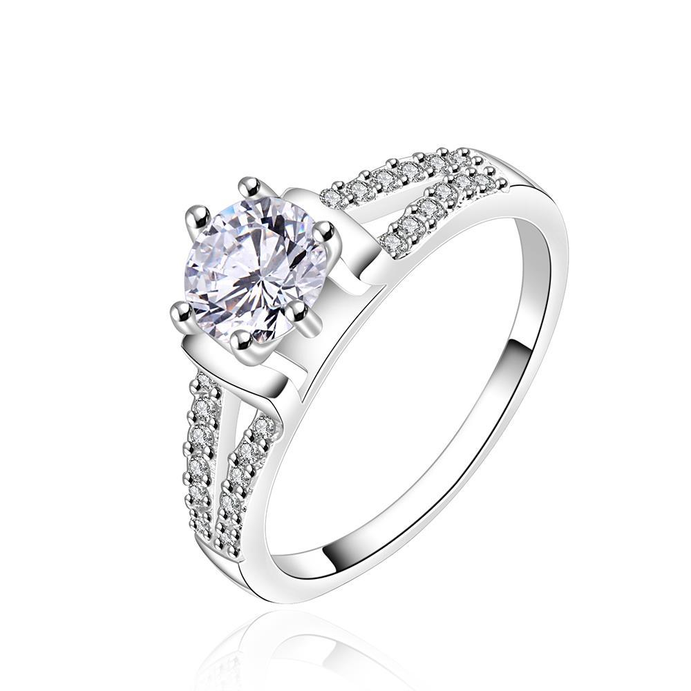 Vienna Jewelry Center Crystal Jewels Covering Wedding Ring Size: 8