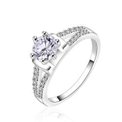 Vienna Jewelry Center Crystal Jewels Covering Wedding Ring Size: 8 - Thumbnail 0