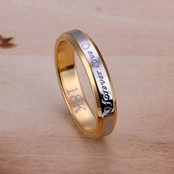 Vienna Jewelry Sterling Silver Forever Love Classical Band Size: 8