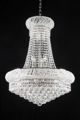 New French Empire Crystal Chandelier Lighting H24x W32