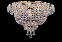 Flush French Empire Crystal Chandelier Lighting