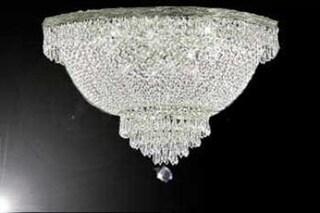 Flush Basket French Empire Crystal Chandelier Lighting H20 5 x W30