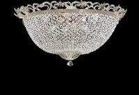 French Empire Empress Crystal Chandelier Lighting